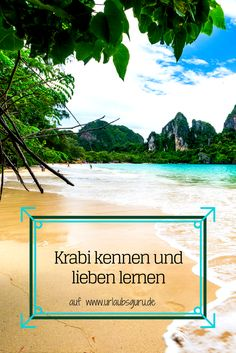 Ihr liebt Thailand und würdet am liebsten jeden Urlaub dort verbringen? Kennt ihr auch schon die vielfältige Region Krabi? Wälder, Tiere, Kalksteinfelsen, Strände und traumhafte Orte hat Krabi zu bieten. In diesem Artikel zeige ich euch alles über die thailändische Provinz Krabi!