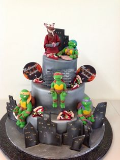 Turtle cake 2 by Naazneen