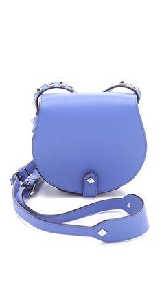 Rebecca Minkoff Skylar Mini Cross Body Bag in periwinkle $225 [love it, very small]