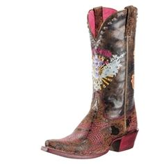 Ariat Wild Brown Pink & Sassy Soule 10009511  http://www.myshoestop.com/ProductDetails.asp?ProductCode=10009511