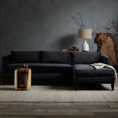 You'll want to go dark and dramatic at home after you see these rooms. Here are the best colors to use for a dark room.  #BlackLivingRoom #DarkLivingRoom #LivingRoom #Decor #Ideas