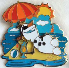 LE 400 Disney Trading Pins, Disney Pins, Disney Love, Disneyland Pins, Disney Collector, Frozen Disney, Disney Addict, Disney World Trip, Olaf