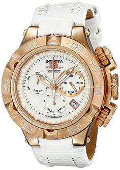 Invicta Womens 17229 Subaqua Analog Display Swiss Quartz White Watch ** You can get additional details at the image link.