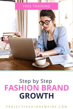 Learn how to grow profitable fashion brand, for anyone who is interested in fashion business and fashion marketing and fashion entrepreneurs, fashion designers, online fashion retailers, fashion business owners.   #sewing #fashionillustration #fashionsketches #fashiondesign Fashion Design Sketches, Fashion Designers, Business Marketing, Business Tips, Make Your Own Clothes, Textiles, Fashion Marketing, Easy Sewing Projects, Apparel Design