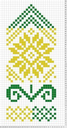 Flower - inspiration for tapestry crochet