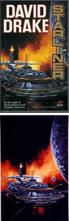 PAUL ALEXANDER - Starliner by David Drake - 1992 Baen Books
