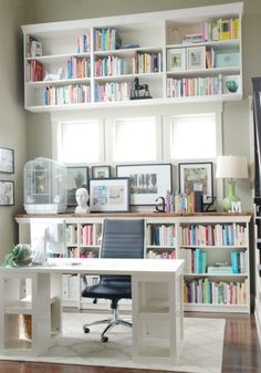 Mini Manor Blog - rustic top bookcases