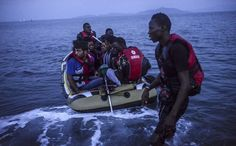 August 17, 2015 BULENT KILIC/AGENCE FRANCE-PRESSE — GETTY IMAGES A Shorter Passage, for a Price Migrants crowd a boat leaving Bodrum, Turkey, for a Greek island, a trip that takes just hours and costs up to $1,500. Page A4.
