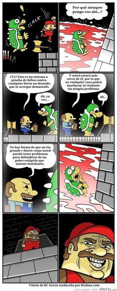 Los malos de los videojuegos son a veces como los malos de las pelis, no matan porque no quieren