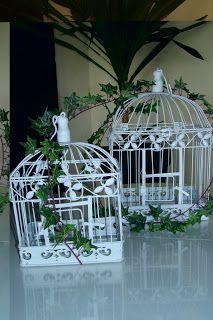 Gostei, postei!: Gaiolas para decorar.