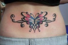 Celtic Butterfly Tat