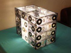 DIY cassette lamp tutorial