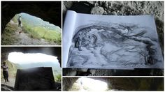 Memórias Vivídas e Desenhádas! La Cueva de  la India Dormida - El Valle de Antón - Cocle - Panama. Bruna Rizzotto. 2012.
