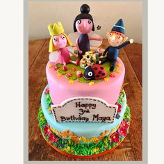 Ben & Holly little kingdom cake Ben N Holly, Ben And Holly Cake, 3rd Birthday Parties, 4th Birthday, Birthday Ideas, Birthday Cake, Celebration Cakes, Party Ideas, Desserts