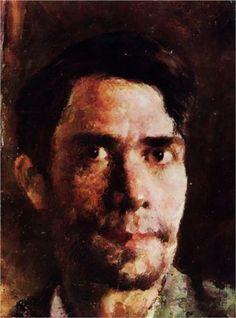 Stefan Luchian (Romanian, 1868-1917) | Self-Portrait, undated