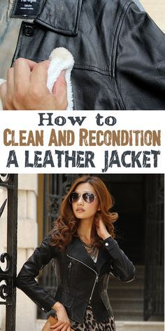 Spring comes and leather jacket must be retouched for the new season. See how to clean and recondition the leather jacket that stayed too long in the closet. ==
