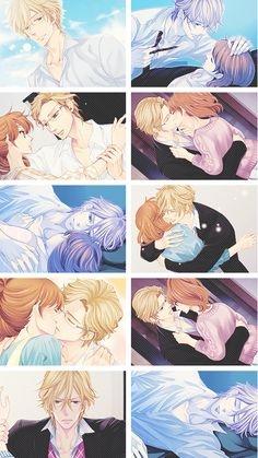 Ukyo x Ema  I think Ema should end up with Ukyo, Natsume, or Masaomi.