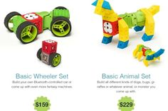 Love these: Living Lego Sets Create Easy To Build Robots For Kids [Video] - PSFK