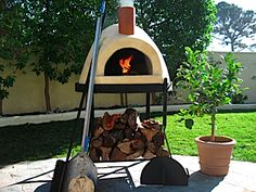 It has long been a dream of mine to have a wood burning pizza/bread oven in my yard.