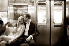 romantic NYC West Village engagement session | photos by http://www.artoflove.com/