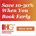 Book Early and Save 10% to 30% on Your Next IHG Stay! - http://borntocoupon.com/code/book-early-and-save-10-to-30-on-your-next-ihg-stay/
