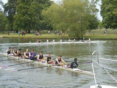 Rowing in Oxford