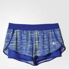 adidas - Shorts Duplo Gráfica Workout Feminino