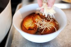Pioneer Woman's French Onion Soup, next time add thyme and cognac