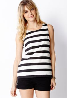 Essential Striped Tank | FOREVER21 - 2078821347