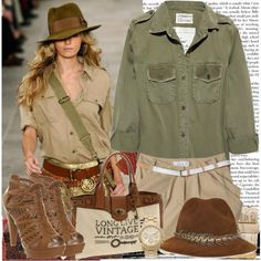 Safari inspirational outfits – Just Trendy Girls
