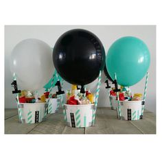 Air Balloon, Balloons, Baby First Birthday, Balloon Decorations, First Birthdays, Party Time, Birthday Parties, Baby Shower, Wedding