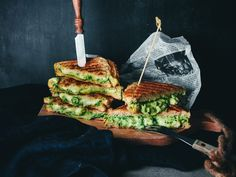 Grilled two cheese avocado and spinach sandwiches! What could behellip Cookery Books, My Cookbook, Everyday Food, Avocado Toast, New Recipes, Spinach, Side Dishes, Sandwiches, Food And Drink
