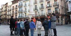 'Conoce tu ciudad', el nuevo programa de turismo para los niños de Teruel #Twitter
