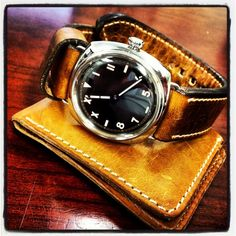 panerai and distressed leathers