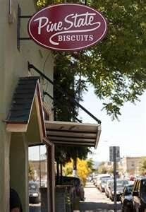Location: Portland, Oregon  Restaurant: Pine State Biscuits  What to Order: BBQ Biscuit & The Reggie Deluxe