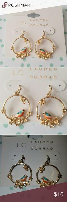 FINAL PRICE🌹Lauren Conrad bird earrings🌹 Cute bird earrings by LC LC Lauren Conrad Jewelry Earrings