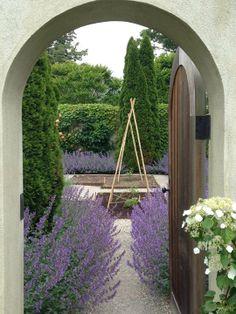 Ina Garten's gorgeous vegetable garden