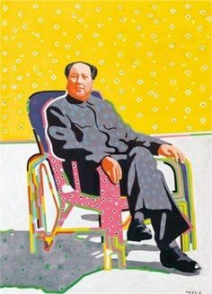 Mao in an Easy Chair - Yu Youhan