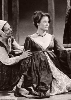 "1965 - Maggie Smith and Joyce Redman, ""Othello"", 1965."