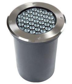 Luminaire encastrable au sol  LED rond d extérieur ARC SOURCE