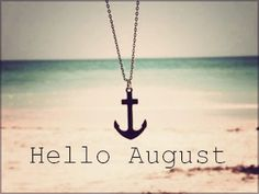 hello August!- almost there! Hello Summer, Summer Of Love, Summer Fun, Pink Summer, Summer Days, Summer Vibes, The Anchor Holds, Hope Anchor, Small Anchor