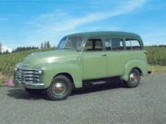 '49 Suburban. My Dad had one just like this that I grew up in.
