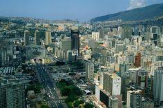 Downtown Caracas, Venezuela  ~a valley of skyscrapers