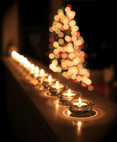 Follow the Light throughout the holidays. Holiday and Christmas candles.