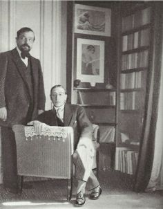Claude Debussy and Igor Stravinsky