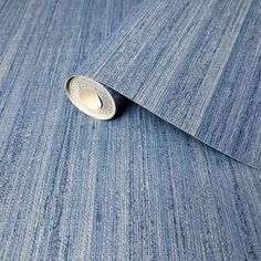 Plain Modern Wallpaper Rustic Blue faux grasscloth lines   Etsy Coastal Wallpaper, Modern Wallpaper, Vinyl Wallpaper, Wallpaper Shops, Room Wallpaper, Line Texture, Texture Paste, Buy Wallpaper Online, Rustic Blue
