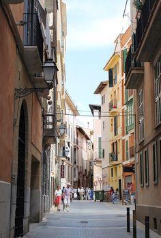 Palma de Mallorca Majorca streets