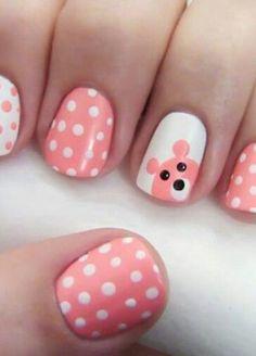 http://www.miascollection.com Easy Polka Dots Nail Art Inspirations - Ferbena.com - Ferbena.com pastel,  polka dot  nail art
