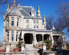 https://flic.kr/p/zSrjC | St Joseph, MO Cummings-Ogden House | What a gorgeous house!!  Constructed in 1889. In the Hall Street Historic District, National Register #79001352.