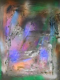 Non-figurative, non-objective art, contemporary Masters, Contemporary Abstract Fine art, Ulrich de Balbian, www.newstylesgallery.info